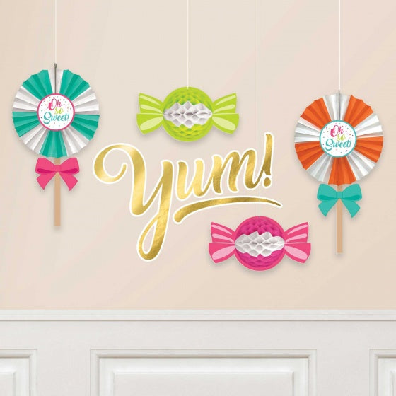 Candy Bar Decorations Pk6