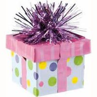 Balloon Weight Gift Box Pink
