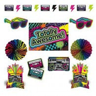 80's Theme Decorating Kit
