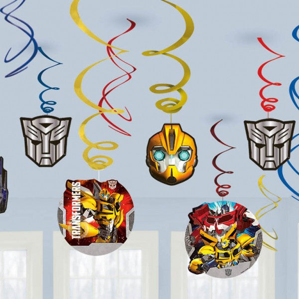 Transformers Swirl Decorations Value Pack