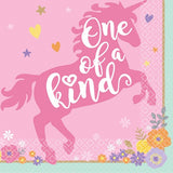 Unicorn Napkins | One of a Kind | Beverage Pk16