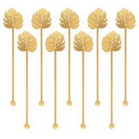 Palm Leaf Stirrers | 12 Pcs