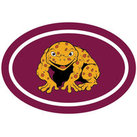 Peel N Place Sticker QLD Canetoad