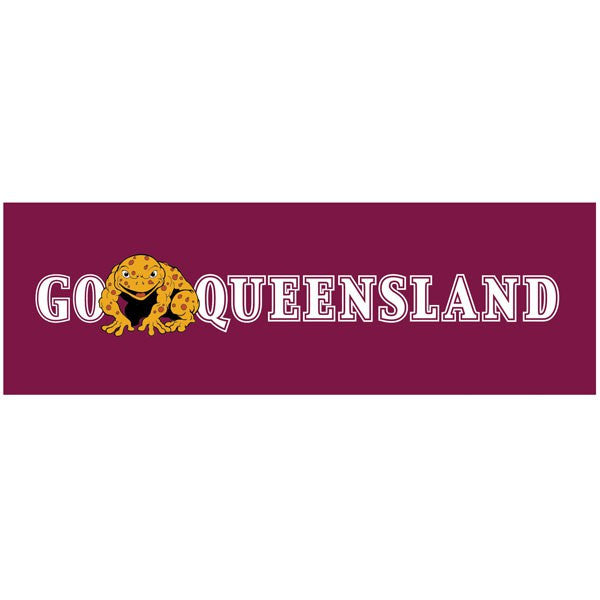 Car Decal QLD Canetoad