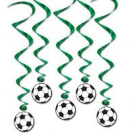 Hanging Decoration Whirls Soccer Ball