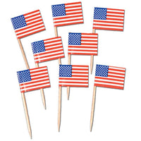 American Flag Picks Pk50