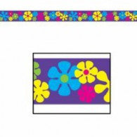 Party Tape Retro Flowers