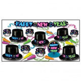 New Years Party Pack / Box Neon Party -10 People