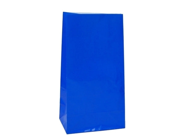 Party Bags | Paper | Royal Blue | 12pk