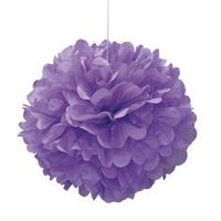 Tissue Paper Puff Ball - Purple