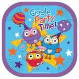 Giggle and Hoot Paper Plates Pk8