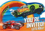 Hot Wheels Invitations Pk8