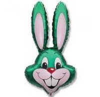 Easter Balloon - Green Rabbit Head Foil