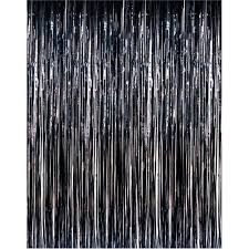 Black Back Drop | Door Curtain | Foil
