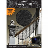 Creepy Cloth Black | Halloween Decoration
