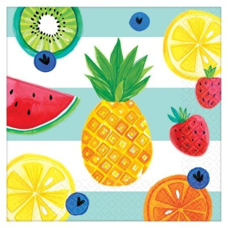Fruit Salad - Hello Summer - Lunch Napkin