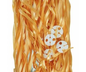 Balloon Ribbon with Clips Pk25 ~ Gold