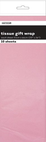 Pastel Pink Tissues Paper | 5 Sheets