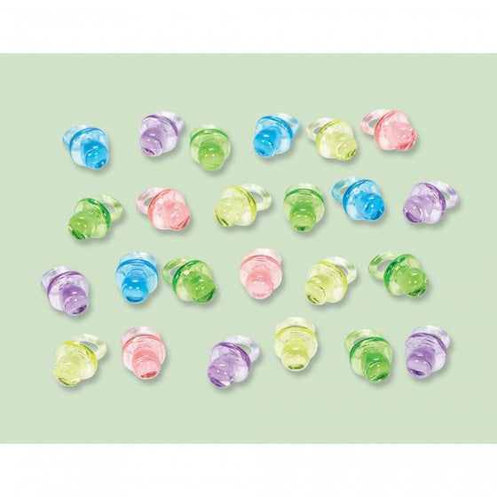 Mini Baby Pacifiers | Neutral Pk24
