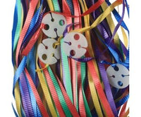 Balloon Ribbon with Clips Pk25 ~ ASSORTED