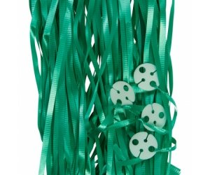 Balloon Ribbon with Clips Pk25 ~ GREEN