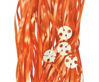 Balloon Ribbon with Clips Pk25 ~ ORANGE