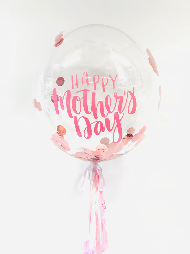 Custom Mother's Day Bubble Balloon