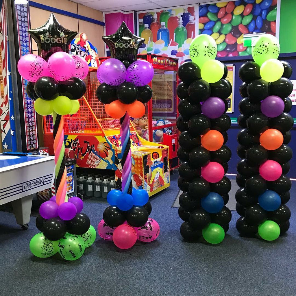 Neon Balloon Pillar each