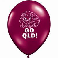 State of Origin QLD balloon - Singles or Packs - Helium filled or Flat