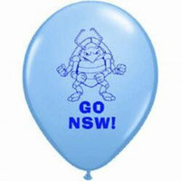 State of Origin NSW balloon - Singles or Packs - Helium filled or Flat