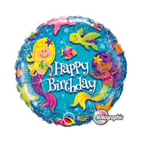 Mermaid Happy Birthday Balloon / Bouquet