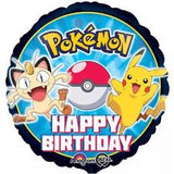 Pokemon Birthday Balloon - Balloon Bouquet - Single