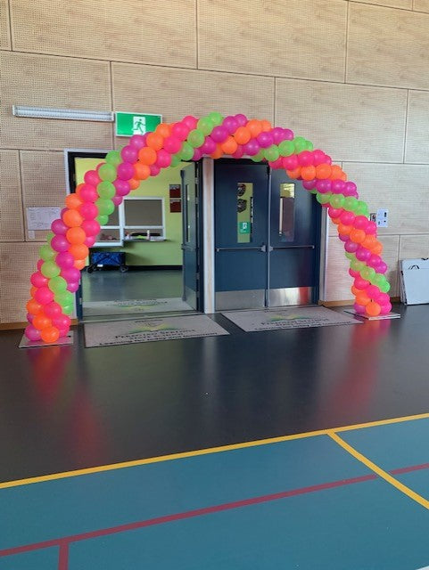 Neon Balloon Arch - Large