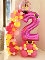 Large Number Balloon with Garland | Emma Wiggle