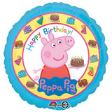 Peppa Pig Happy Birthday Balloon / Bouquet