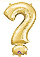 Large ? Question Mark Balloon - Gold