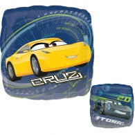 Disney Cars - Cruz & Storm Balloon / Bouquet