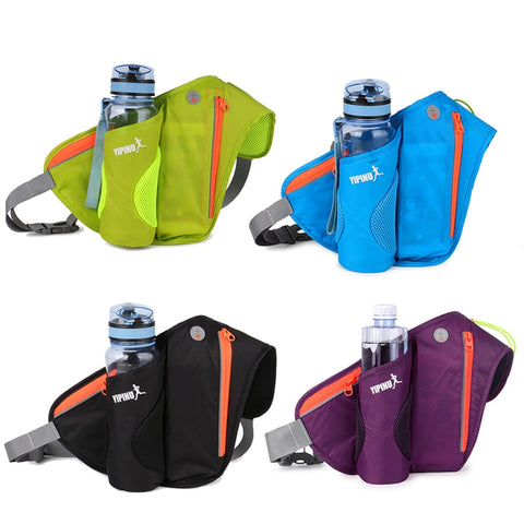 Women Men Marathon Pack Running Water Bag Cycling Hiking Bag Outdoor Sport Light Weight Running Bag