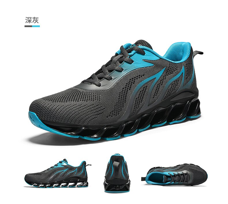 Prime Day! Hot Sale Formotion Mesh Eva Spring  Blade Shoes New Sports Couple Models Wear Non-slip Running Shoes Blade Free Ship