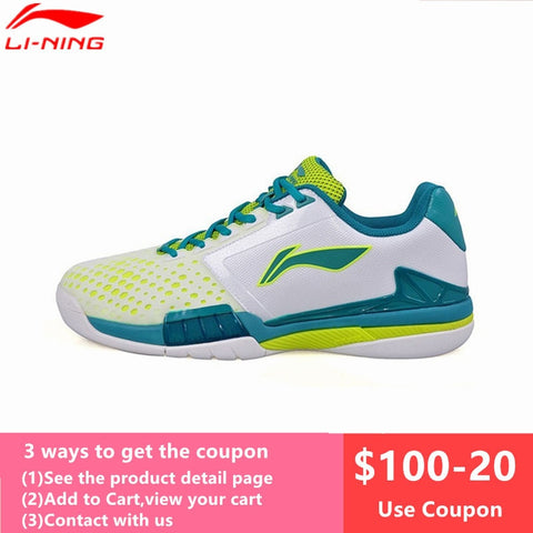 Li-Ning Professional Tennis Shoes for Men Cushioning Breathable Stability Sneaker Li Ning Mans tenis masculino Sports L622OLZ