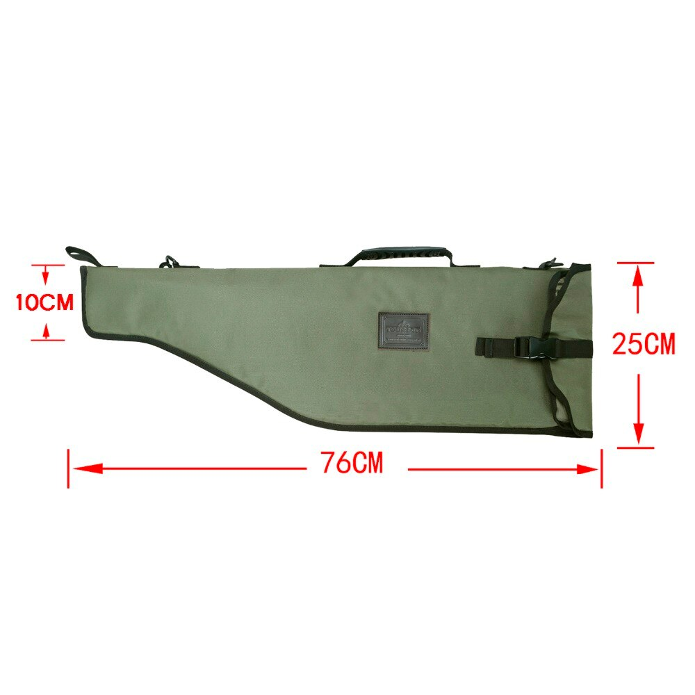 Tourbon Hunting Gun Accessories Nylon Break-down Shotgun Case Length 76CM Barrel Protection Bag Holder with Buckle Strap