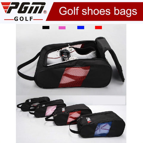 2019 Brand New Sport Big Shoe Bag Golf Shoes Package Female High-grade Nylon Light Practical 4 ColorsTravel Shoes Bag for Men