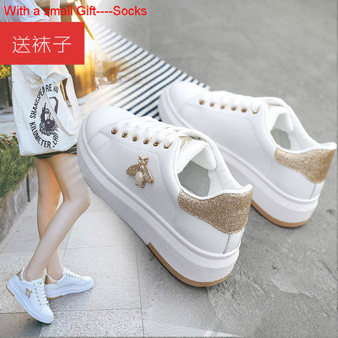basket femme 2019 Spring Summer Sports Women Sneakers White Shoes Women Breathable wear-resistant nonslip Running Shoes Women
