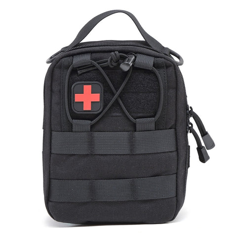 Nylon First Aid Bag Tactical Molle Medical Pouch Emergency EDC Rip-Away Survival Utility Car First Aid Bag