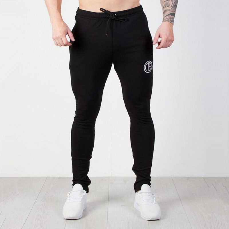 Mens Running Sportswear Sets Sweatshirt Sweatpants Gym Fitness Bodybuilding Hoodies Tops Pants Male Jogging Workout Tracksuits