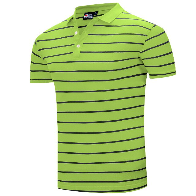 men golf clothing Sport Short sleeve Golf Turn-down Collar Sportswear Breathable outerwear sweater men golf shirts 10 colors