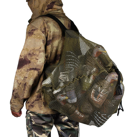 Outdoor Duck Goose Turkey Decoy Bag Backpack Camping Hiking Trekking Fishing Hunting Bags Hunting Mesh Decoy Bag