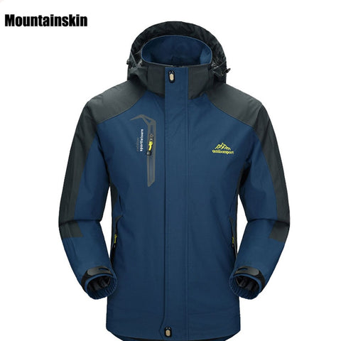 2018 New Spring Autumn Mens Softshell Hiking Jackets Male Outdoor Camping Trekking Climbing Coat For Waterproof Windproof VA002