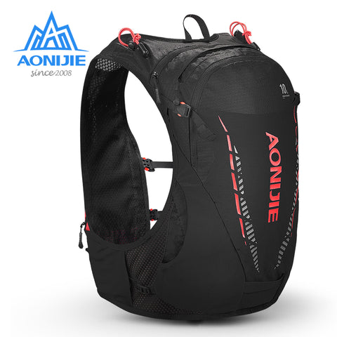 AONIJIE C948 Lightweight 10L Hydration Backpack Pack Rucksack Bag Water Bladder Hiking Running Marathon Race Cycling TrailRunner