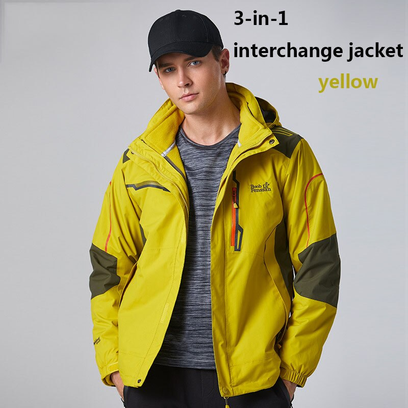 New winter men Outdoor Jacket Thermal Windbreaker Waterproof Outdoor Sports Hiking Camping Climbing Fishing male Jacket 1611A